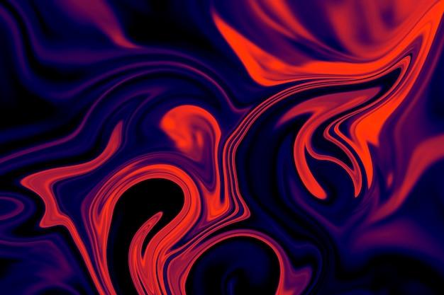 Абстрактная предпосылка красочного жидкостного вкладыша. абстрактная текстура жидкого акрила.