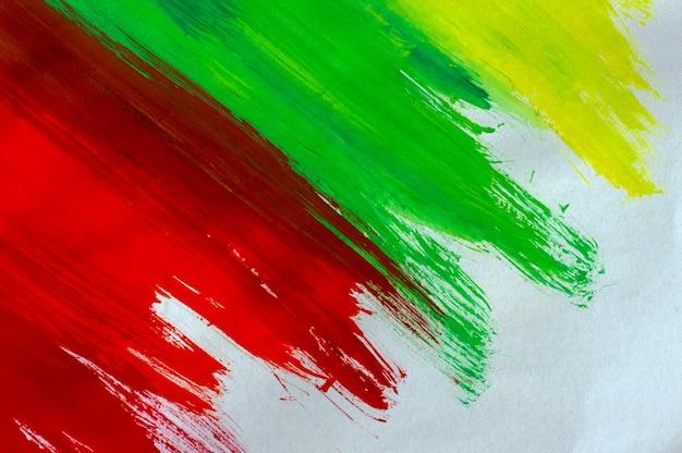 Абстрактный фон красочной акварели на белой бумаге, для фона и обоев