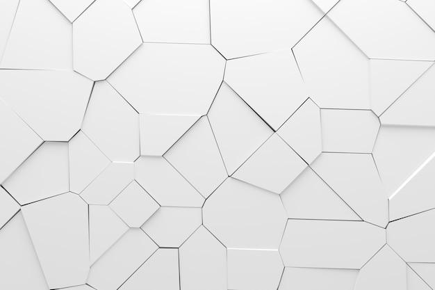 ひびの入った壁の抽象的な背景。 3dレンダリング。