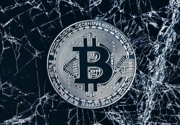Абстрактный фон криптовалюты