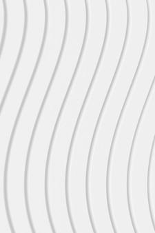曲線の抽象的な背景。 3dレンダリング。
