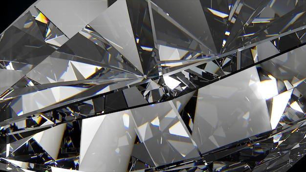 ダイヤモンドの抽象的な背景