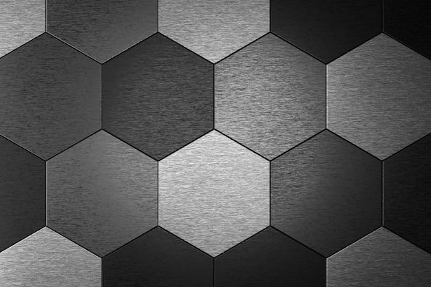 Абстрактный фон шестиугольника. 3d-рендеринг.