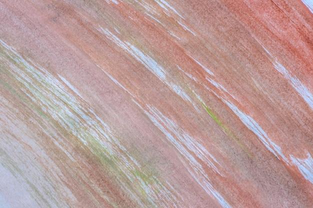 Абстрактный фон светло-коричневой акварели на белой бумаге, для фона и обоев