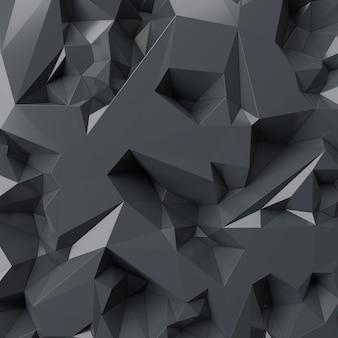 Абстрактная предпосылка современной стены. 3d-рендеринг.