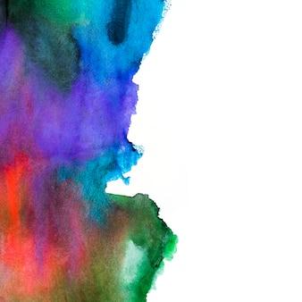 여러 가지 빛깔의 페인트 색상의 추상적 인 배경