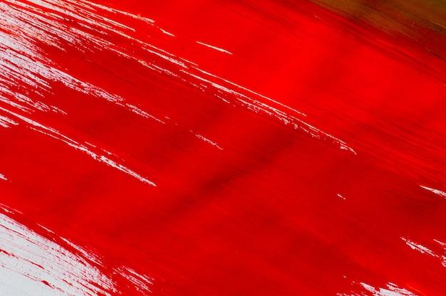 Абстрактный фон красной акварелью на белой бумаге, для фона