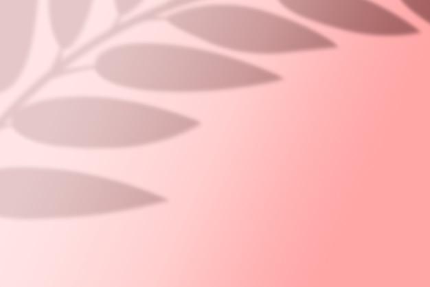 影の葉の抽象的な背景