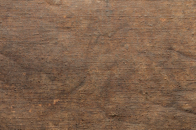 Abstract background of old canvas for painting closeup topview texture