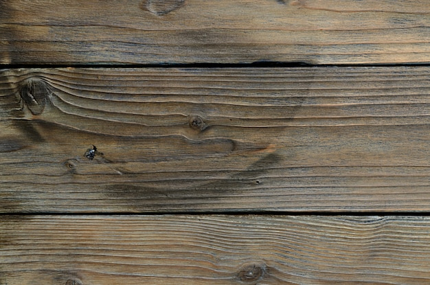 Abstract background of old wooden boards. closeup topview for artworks. high quality photo