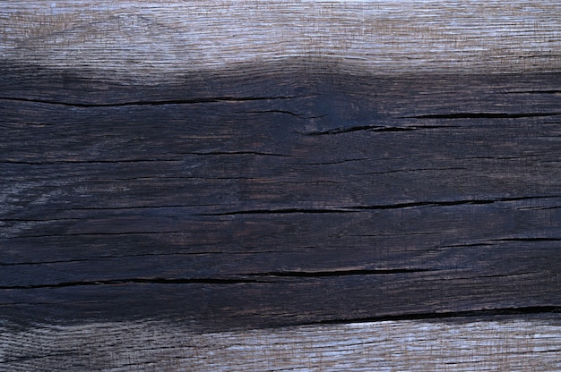 The abstract background of the old wooden surface is wet after rain. closeup topview for artworks.