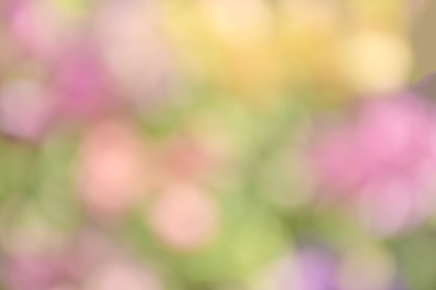 Abstract background in pastel tone with bokeh.