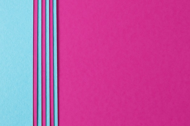 Abstract background of pink and blue composition with texture paperboard
