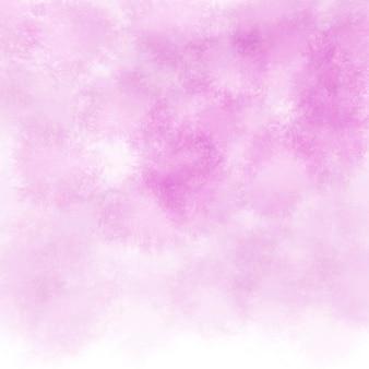 抽象的な背景ピンクの水彩綿の背景