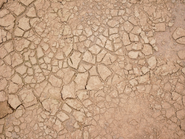Abstract background rift of soil climate change and drought land