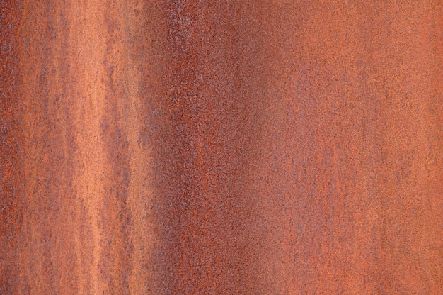 Abstract background of the rusted metal