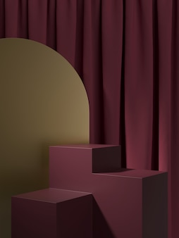Abstract background,  scene. 3d rendering