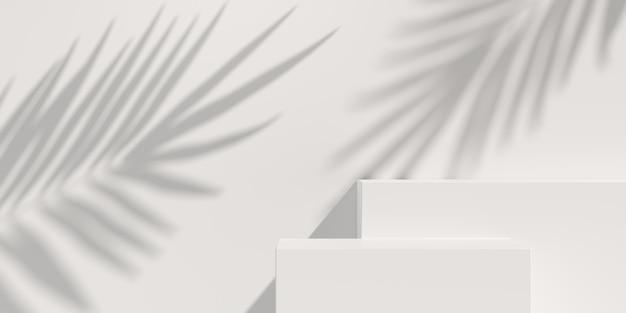 추상적 인 배경, 제품 디스플레이 장면. 3d 렌더링