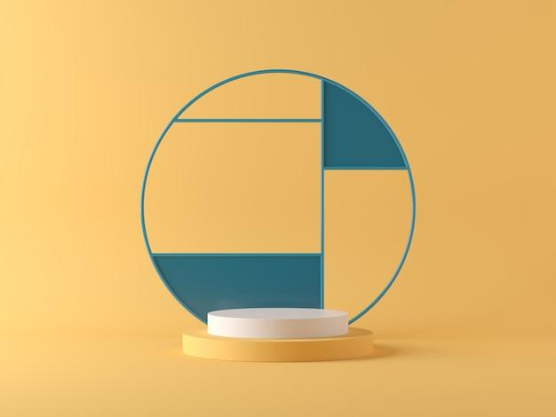 抽象的な背景、製品表示のシーン。 3dレンダリング