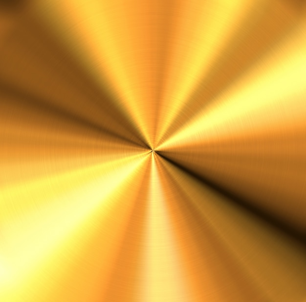 Abstract background of shiny copper metal