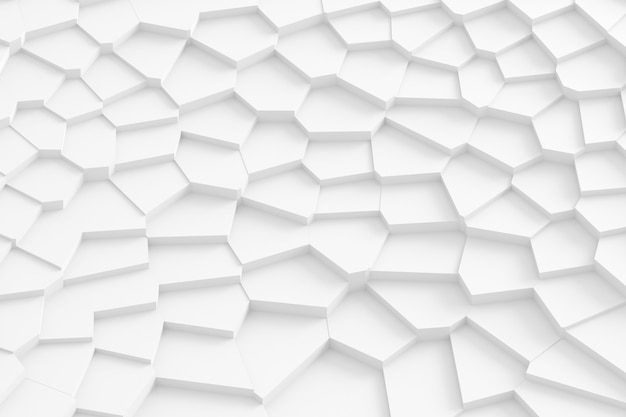 Abstract background of straight lines dissecting the surface into separate parts 3d illustration