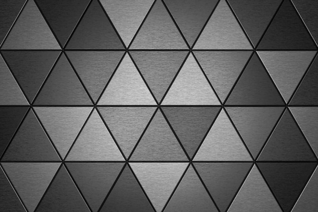 Abstract background of triangle shape