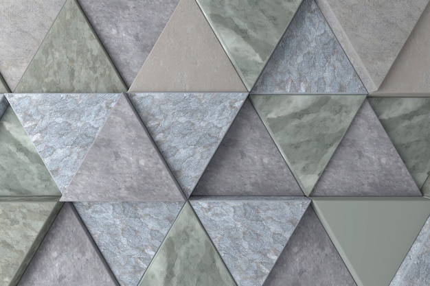 Abstract background of triangle