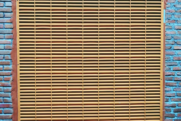 Abstract background ventilation on wall close up
