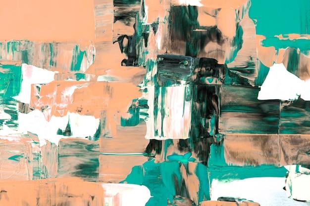 抽象的な背景の壁紙、混合色のテクスチャアクリル絵の具