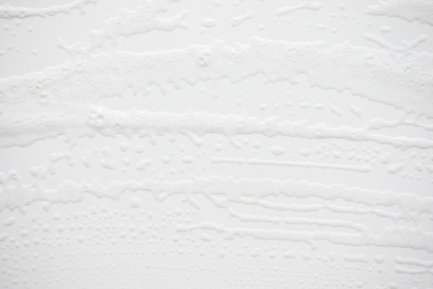 Abstract background white soapy foam texture