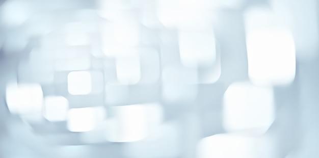 白色光のぼかしで抽象的な背景 Premium写真