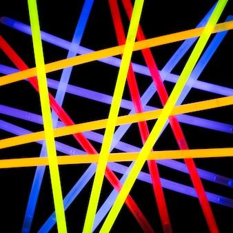 Абстрактный фон с красочными огнями