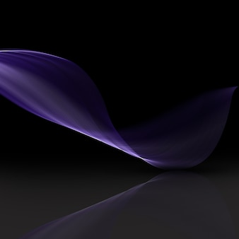 Abstract background with a flowing lines design
