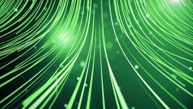 Абстрактный фон с линиями для оптоволокна