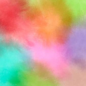 여러 가지 빛깔의 세척 패턴으로 추상적인 배경