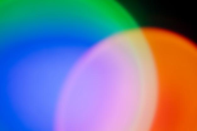 ネオンの光と抽象的な背景。