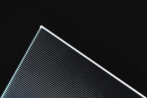 Sfondo astratto con texture di vetro modellato