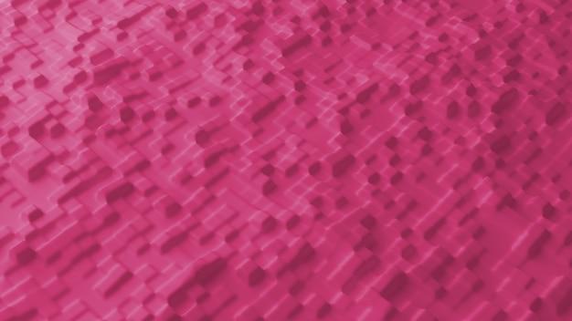 ピンクのにきびと抽象的な背景