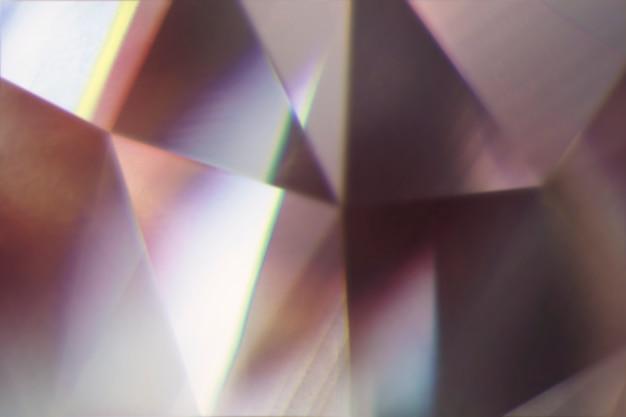 프리즘 렌즈 효과와 추상적 인 배경