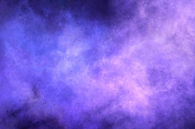 보라색 템플릿과 흰색 빛으로 추상적인 배경