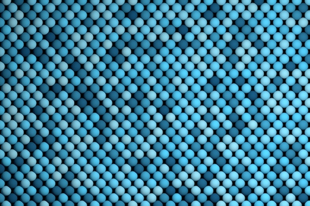 Abstract background with repeating blue balls
