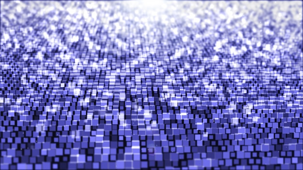 Abstract background with square light purple and white.