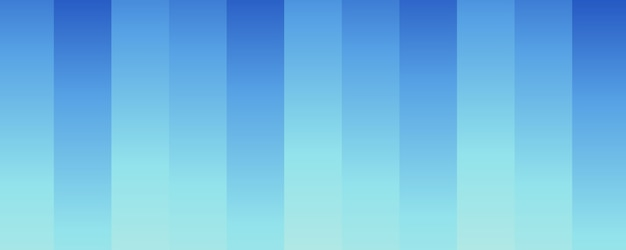 グラデーションブルーの縦縞の抽象的な背景