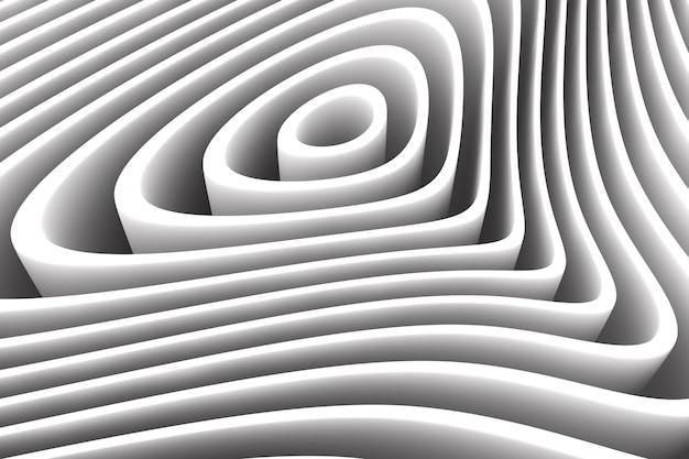 白い円で抽象的な背景