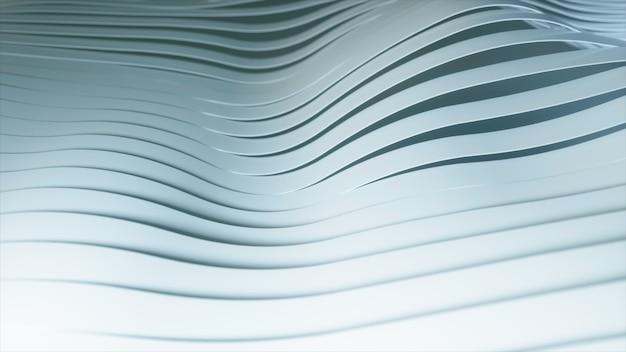 흰색 물결 모양의 줄무늬가있는 추상적 인 배경.