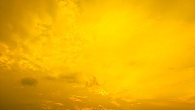 Abstract background of yellow cloudy