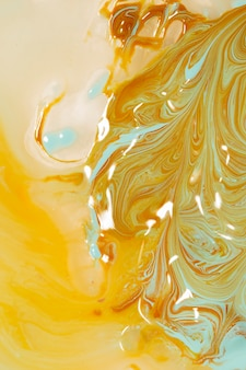 Abstract of beer head in oil