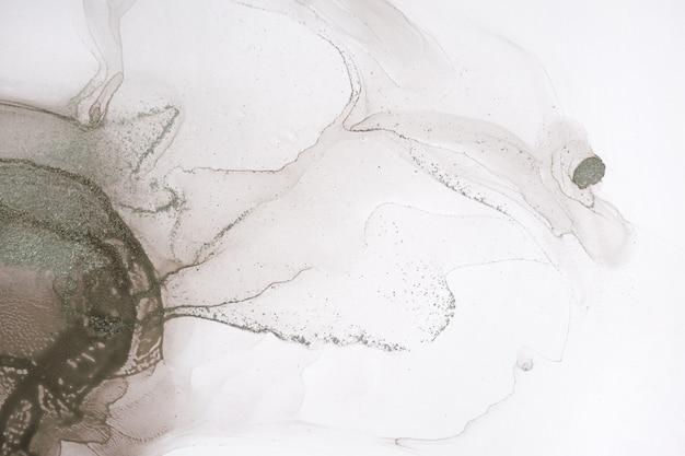 Абстрактный бежевый и золотой акварельный фон произведения искусства
