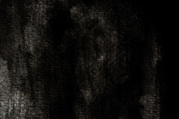 抽象的な白黒の水彩の背景。アートハンドペイント Premium写真