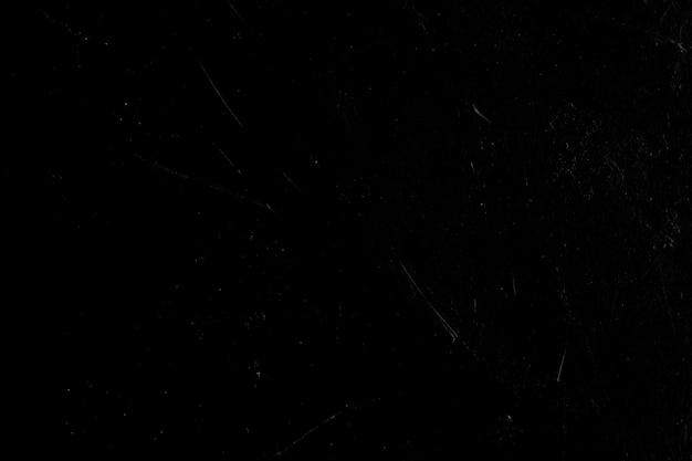 抽象的な黒い背景スクラッチ風化